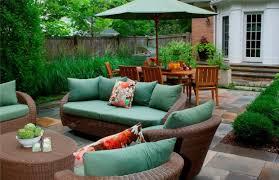 stylish outdoor patio furniture ideas resin wicker outdoor furniture