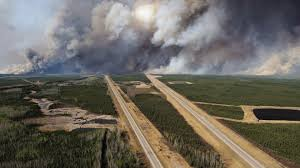Canada Wildfire App by Shifting Winds Push Wildfires Back Toward Canada U0027s Oil Sands