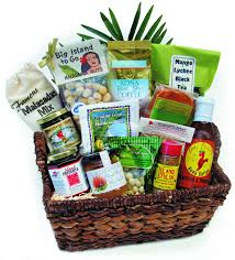 Easter Gifts For Adults Hawaiian Gourmet Treats Corporate Gift Basket With Malasada Mix