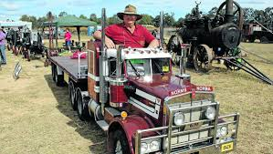 a model kenworth tiny truck at the big show mudgee guardian