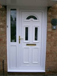 Front Doors With Glass Side Panels Enchanting Images Of Front Doors With With Wooden Square Bottom