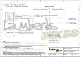 regulator rectifier wiring diagrams lamberts bikes