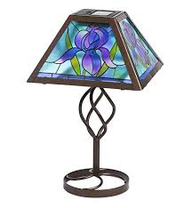 hsn tiffany style lighting tiffany style ls contemporary solar outdoor table accent l