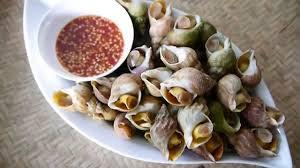 cuisiner des bulots food vlog bulot with chili sauce