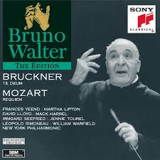 bruno walter bruckner te deum mozart requiem amazon com music