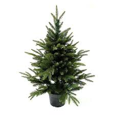 3ft in pot pine pe artificial tree