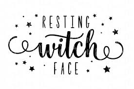 repeat halloween background resting witch face svg halloween cutting file by designs by