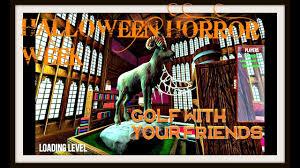 halloween horror week golf with your friends haunted house
