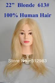22 100 natural human training cutting styling dye practice