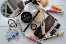 the messy edit my travel makeup kit beauty