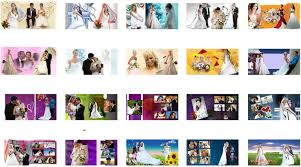 western photo album photoshop backgrounds western wedding album design