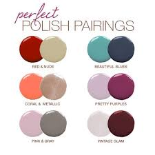 polish pairings clothing mani pedi and makeup
