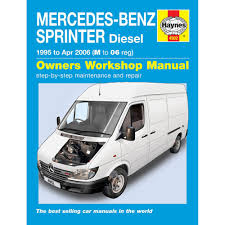 mercedes sprinter 2 2 2 9 diesel 1995 06 m to 06 reg haynes