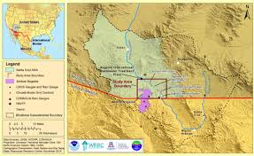 The Wave Arizona Map by Educational Insight On Important Water Issues Wrrc Arizona Edu