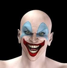 clown cercando molto male per halloween clowns pinterest