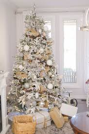 White Christmas Tree Decoration Ideas by Interesting White Christmas Tree Decorations Wonderfull Design 28