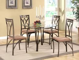 dining room contemporary dining table black steel dining chairs