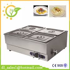 restaurant electric bain marie buffet food warmer container for
