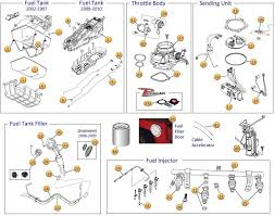 jeep liberty fuel parts jeep liberty kj parts diagrams