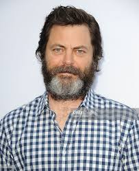 actor nick offerman attends the premiere of the kings of summer at picture id169610031