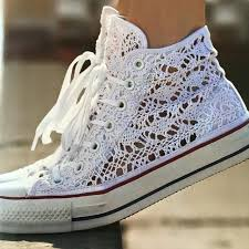 wedding shoes converse converse factory 29 on casual crochet converse and