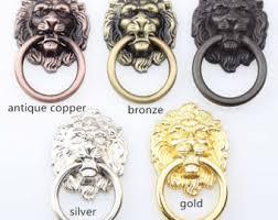 antique lion ring holder images Silver lion head etsy jpg
