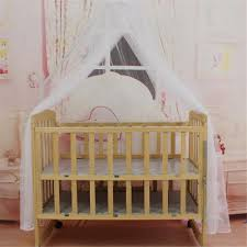 Cot Bed Canopy Hanging Dome Baby Toddler Mosquito Net Nursery Cot Bed Canopy Crib