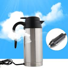 Heated Coffee Mug by Aliexpress Com Buy Car Based Heating Stainless Steel Cup Kettle
