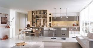 les plus belles cuisines ouvertes merveilleux cuisine semi ouverte avec bar 12 cuisine mobalpa