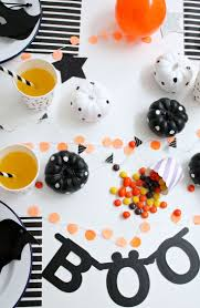 halloween garlands halloween party collaboration with alex and alexa modern