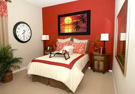 red color bedroom walls with best color to paint a small bedroom