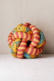 printed knot pillow urban outfitters