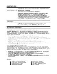 mechanical engineering resume mechanical engineering resume objective sle krida info