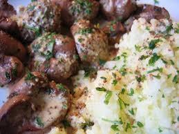 cuisiner rognons de veau cuisine de bistro rognon de veau à la moutarde bistroküche