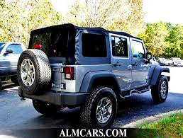 Used Jeep Wrangler Unlimited 2014 Used Jeep Wrangler Unlimited 4wd 4dr Rubicon At Alm Newnan