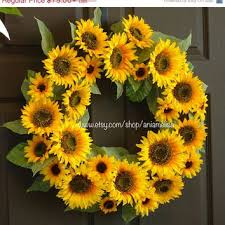 wreaths on sale summer wreath welcome from aniamelisa on etsy