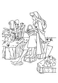 sleeping beauty coloring sheets kids coloring pages kids
