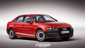 exclusive future car rendering 2016 2016 audi a4 rendered in base spec trim instantly becomes