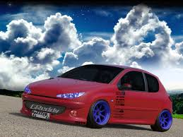 peugeot 206 tuning peugeot 206 by razzzecze on deviantart