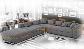 couch mit hocker sam ecksofa grau valdivia polsterecke 330 x 320 cm mit hocker