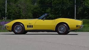 1969 convertible corvette 1969 chevrolet corvette convertible t281 kissimmee 2014