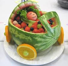 baby shower fruit bowl cool food stuff pinterest baby shower