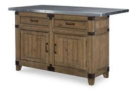 legacy classic metalworks kitchen island in factory chic 5610 190k