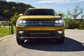 volkswagen atlas white 2018 volkswagen atlas first drive review motor trend