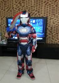 aliexpress com buy iron man 3 patriot muscle child superhero