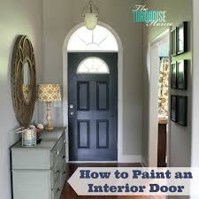 Paint Interior Doors by How To Paint Interior Doors Best Home Furniture Ideas