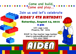 Birthday Party Cards Invitations Top 20 Lego Birthday Party Invitations Which Popular In This Year