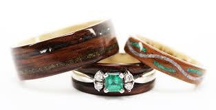 Wood Wedding Rings by The Story Of Julie U0027s Wood Rings Blog Post By Julie