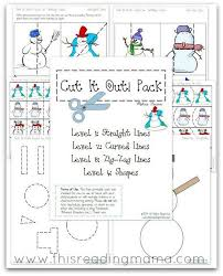 53 best pre k cutting u0026 tracing worksheets images on pinterest