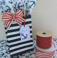 nautical gift bags eco friendly s day packaging that will green